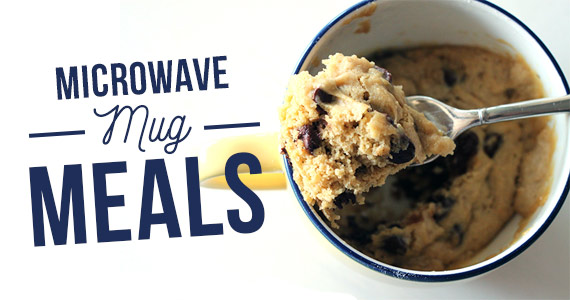Become BFFs With Your Microwave With These Mug Meals