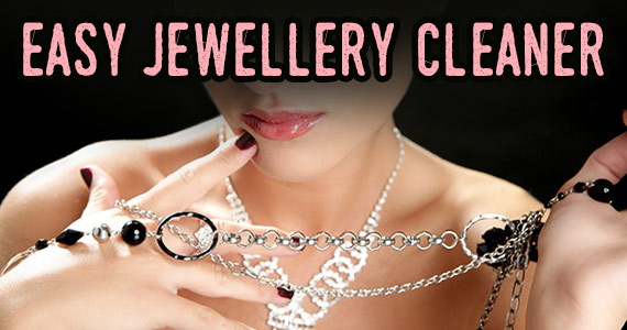 Clean Your Jewelry At Home With These 4 Things