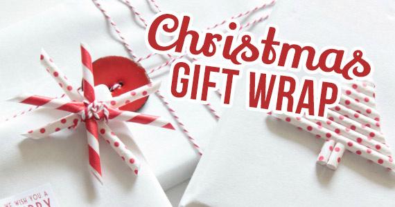 Creative Christmas Gift Wrap Ideas