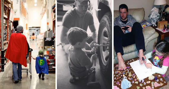 10 Dads Who Nailed the Fatherhood Thing