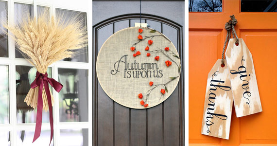 Knock, Knock! Decorate Your Front Door This Fall
