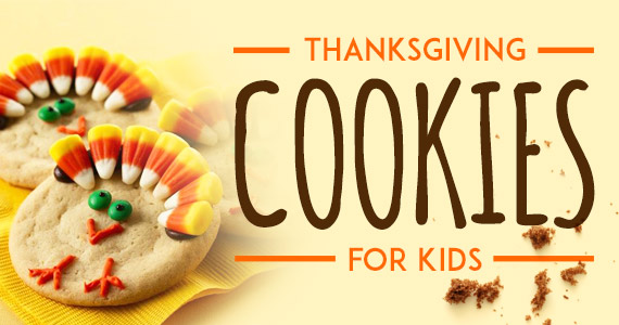 Easy Thanksgiving Cookies To Make With Your Kids
