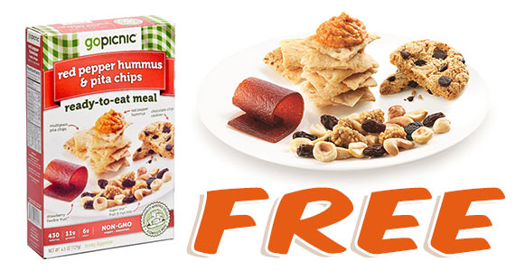 Free GoPicnic Lunch Meal