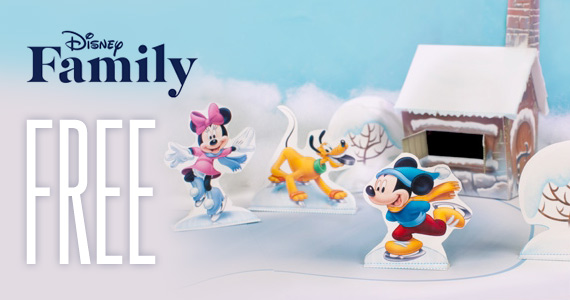 Free Printable Mickey And Friends Ice Skating Playset