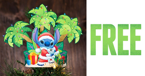 Free Printable Stitch Christmas Tree Topper