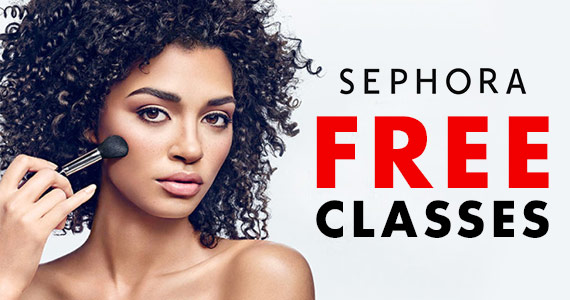 Free Sephora Beauty Classes