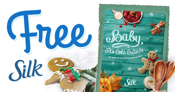 Free Silk Holiday Recipe Book