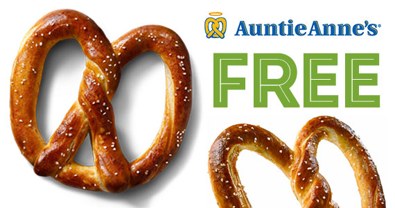 Free Snacks For Santas Everywhere From Auntie Anne's