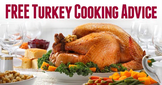 Free Thanksgiving Turkey Cooking Advice