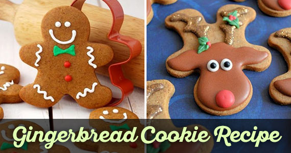 Gingerbread Cookie Recipe for Holiday Baking