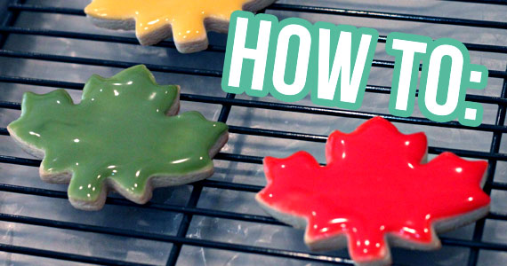 How To Ice Cookies Without a Piping Bag – SO EASY!