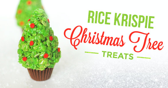 How To Make Rice Krispie Christmas Tree Treats