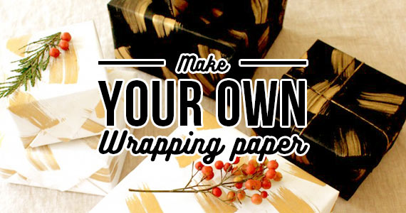 Make Your Own Wrapping Paper Like A Boss