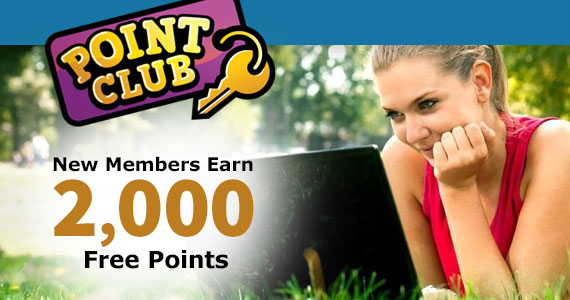 Join Point Club For Free Rewards From Big Brands
