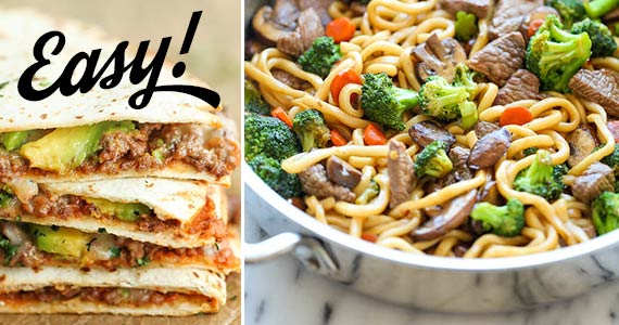 10 Quick & Easy Dinners You Can Make in Minutes