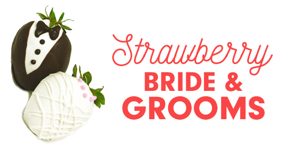 Turn Strawberries Into Adorable Bride And Grooms