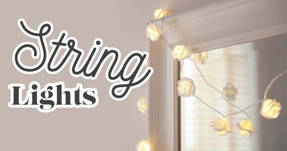 5 Ways To Decorate With String Lights