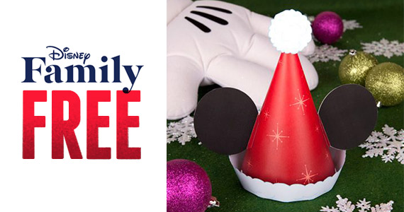 Free Printable Mickey Santa Hat