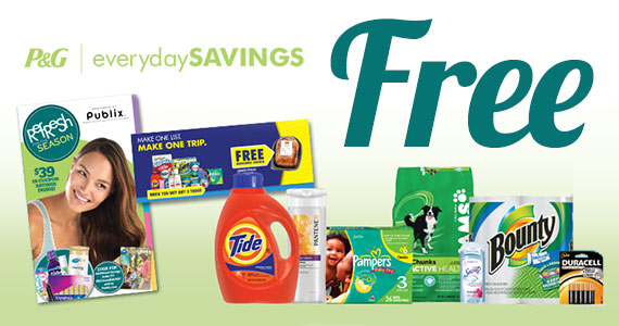 Free Publix P&G Coupon Booklet