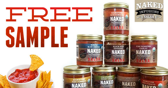 Free Sample Of Naked Infusions Gourmet Salsa