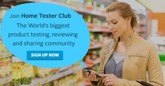 Join Home Tester Club & Receive Free Products