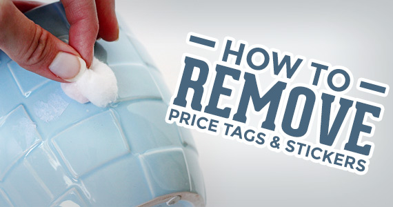 How To: Remove Price Tags and Stickers Easily!