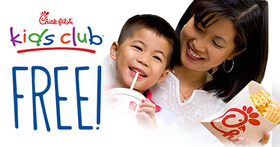 Join The Chick-Fil-A Kid's Club
