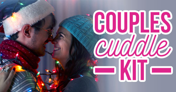 Last Minute Gift Idea: Couples Cuddle Kit