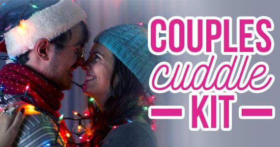 Last Minute Gift Idea: Couples Cuddle Kit