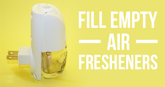 You Can Refill Your Empty Plug-In Air Fresheners!