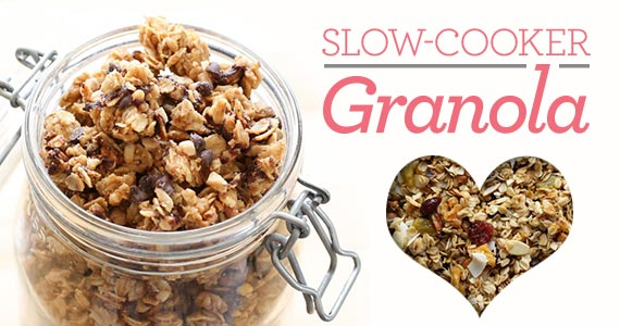 Breakfast Is a Breeze With This Homemade Slow-Cooker Granola