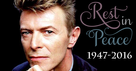 RIP David Bowie 1947 – 2016