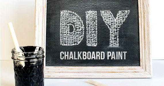 DIY: Chalkboard Paint
