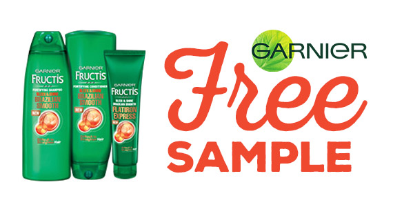 Free Garnier Fructis Brazilian Smooth Haircare Sample