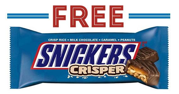 Free Snickers Crisper Bar From Kroger