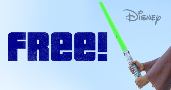 Free Star Wars Lightsaber Printable