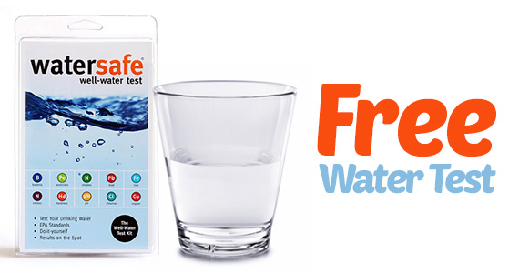 Free Well Water Test Kit