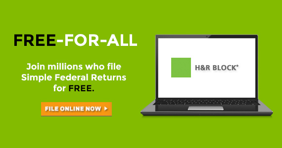 H&R Block Will Do Your Taxes For FREE