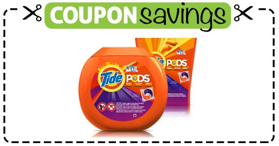 Save $2 off Tide Pods