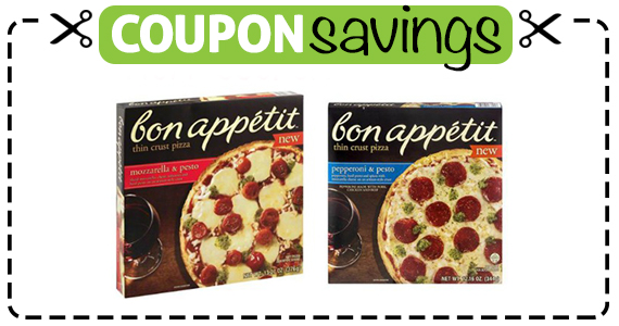 Save 75¢ off Bon Appetit Pizza