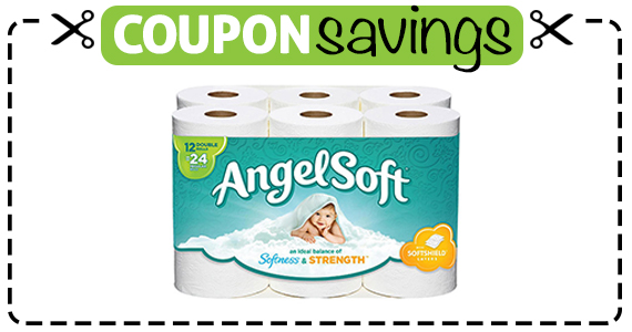Save $1 off Angel Soft Bath Tissue
