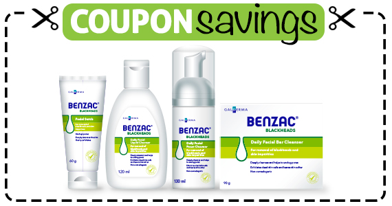 Save $3 off any Benzac Product