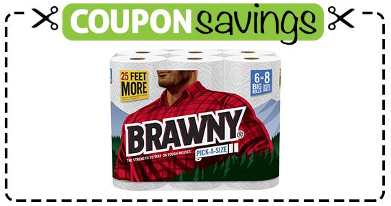 Save $1 off Brawny Paper Towel