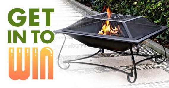Win a Hamilton 30″ Square Steel Fire Pit