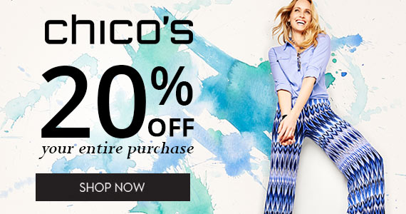 Sign Up & Save 20% Off at Chico's