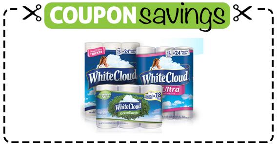Save $1.50 off White Cloud Bath Tissue
