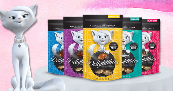 Join The Delightibles Street Team For Free Cat Treats