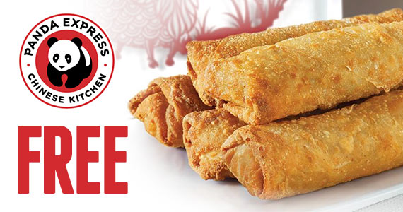 Free Chicken Egg Roll From Panda Express TODAY
