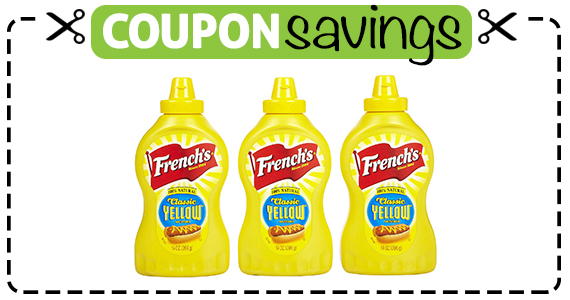 Save 50¢ off Frenchs Yellow Mustard
