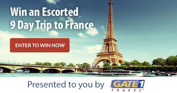 Win a 9-Day Getaway To France